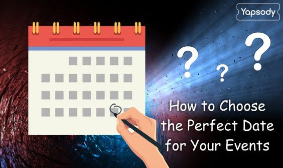 How to Choose the Perfect Date for Your Events  #EventManager #SWOT#…