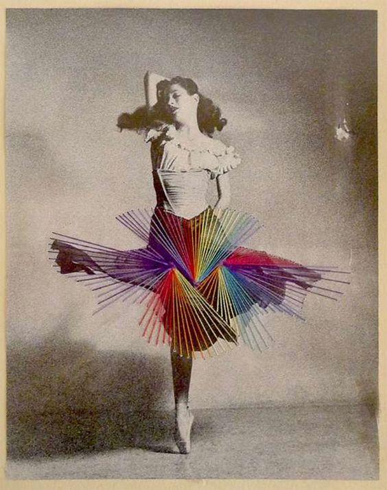 Las bailarinas bordadas de José Romussi, porque a veces se nos olvidan los colores y la fantasía de las fotos antiguas. http://www.dadanoias.net/2012/04/19/jose-romussi/