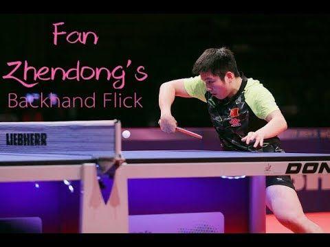 Backhand Flick Tutorial Table Tennis Tennis Ping Pong