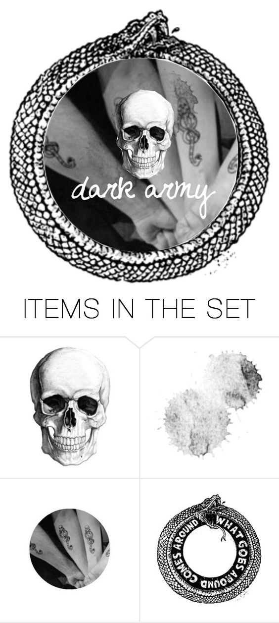 """""""dark army - shoutout"""" by jessicayp ❤ liked on Polyvore featuring art"""