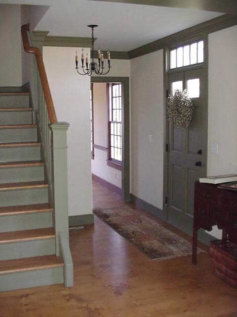 Farmhouse Interior An Entry Hall Into A Farmhouse Is Very Basic Farmhouse Pinterest
