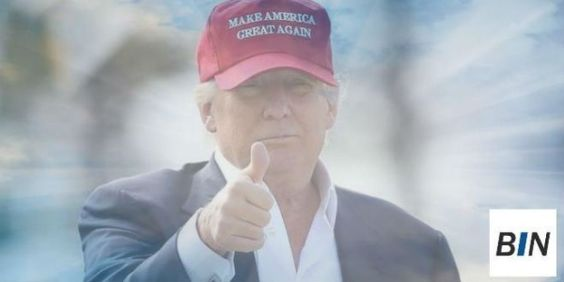 Donald Trump. Photo credit Breaking Israel News