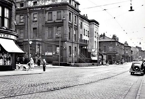 Liverpool, 1950s - Aubrey Street, Everton Road