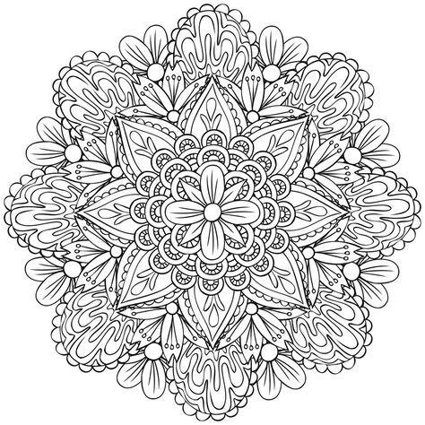 Coloriez Des Mandalas Coloriage Mandala Coloriage Mandala A Imprimer Dessin Coloriage