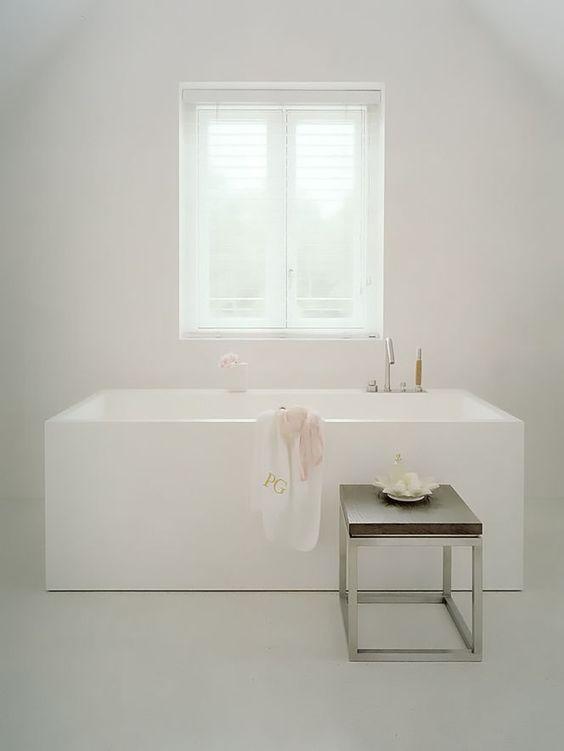 Banho com banheirabranca