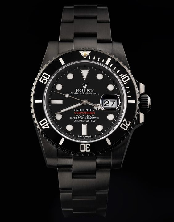 Rolex Submariner Nero