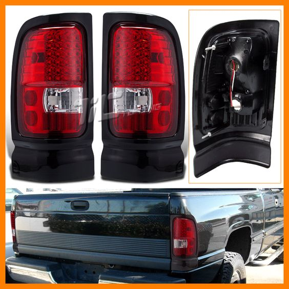 led tail lights tail light dodge rams dodge led ebay lamps lights red. Black Bedroom Furniture Sets. Home Design Ideas