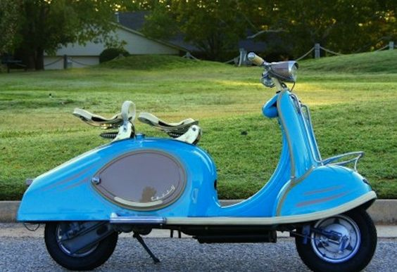1956 TWN (German) Tessy Luxe Scooter with 125cc single-cylinder air-cooled two-stroke engine