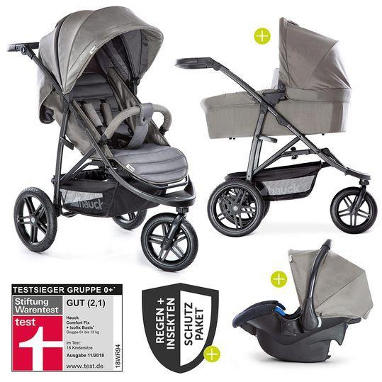 3in1 Kinderwagen Set Rapid 3r Plus Bis 25 Kg Comfort Fix