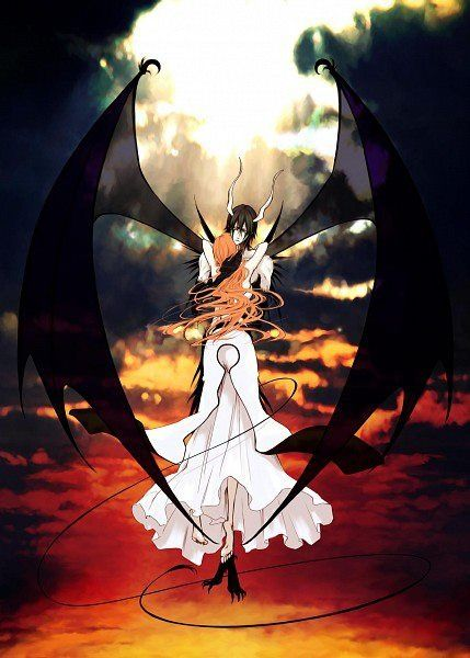 orihime and ulquiorra The princess and the demon