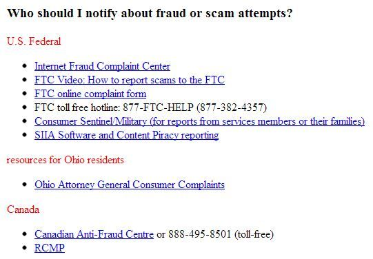 Email with u201cVisual Voicemailu201d Has Scam Attached Consumer News - consumer complaint form