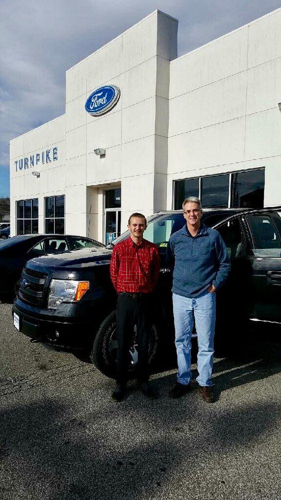 Bruce Mosser with his Sales Associate, Skylar Bennett Thanks - sales associate