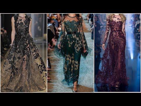 فساتين سهرة ايلى صعب 2018 فساتين سواريه ايلى صعب Youtube Couture Fashion Elie Saab Fall