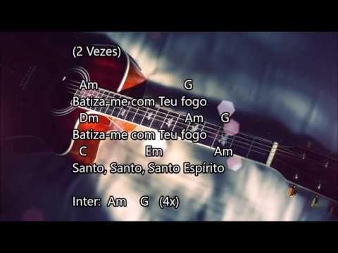Batiza Me Fernandinho Cifra E Letra Youtube Em 2020 Com