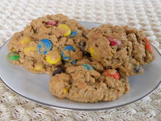Monster Cookies, no flour cookie