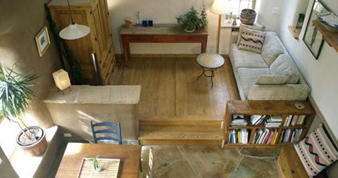 Earth Homes, Small Houses - Straw Bale Hybrid Home - Busyboo