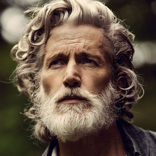 Old Man With Beard And Long Hair Older Mens Hairstyles Best Hairstyles For Older Men Grey Hair Men