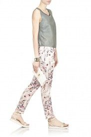 'FRESH ROSES' TROUSERS