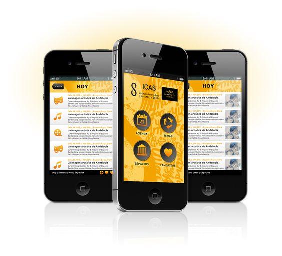 Creando un ecosistema de comunicación digital para acercar la cultura a la ciudad. ICAS #app #mobile #diseño #creatividad #proyecto