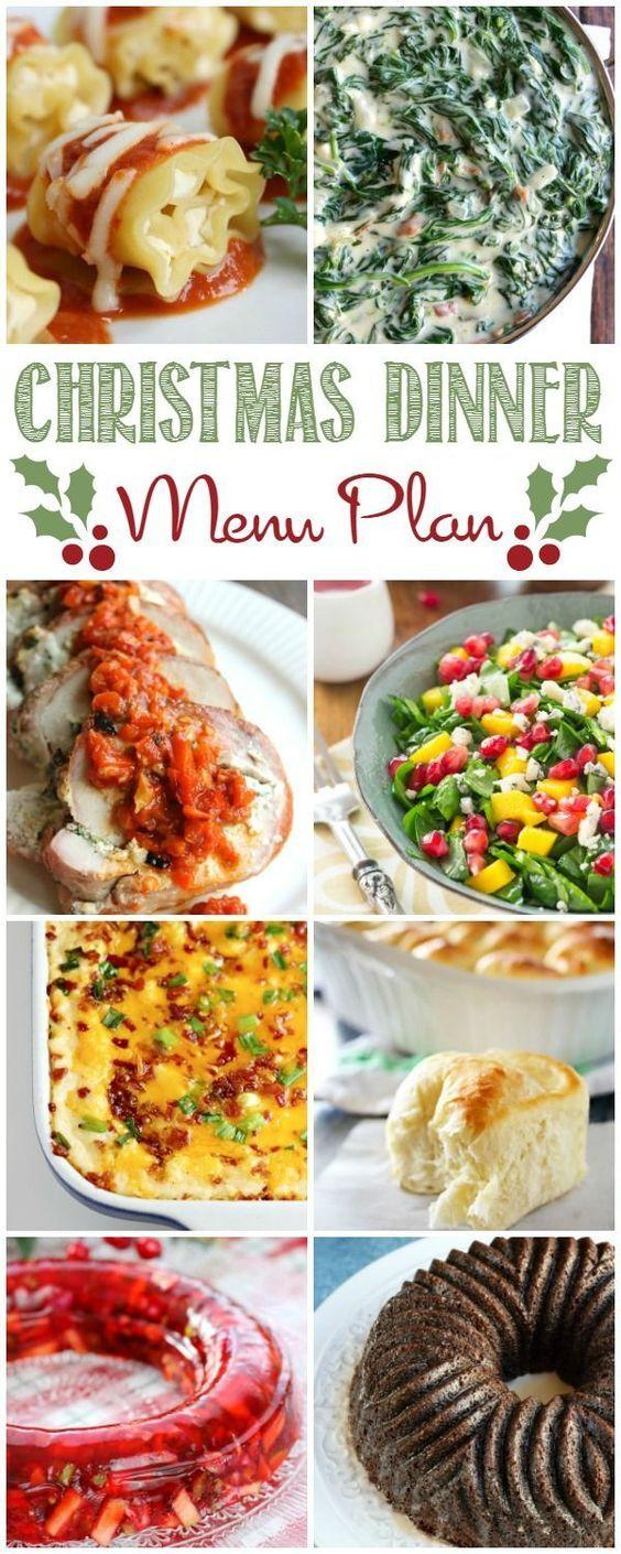 Christmas Dinner Menu Plan