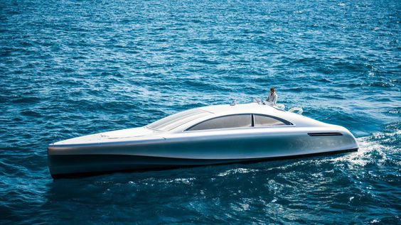 Mercedes Now Makes Bond-Worthy Luxury Yachts