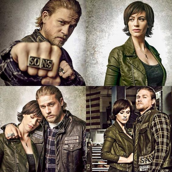 Charlie Hunnam Maggie Siff Entertainment weekly pictures ...