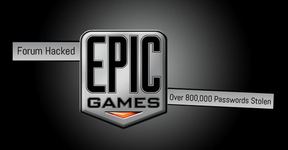 Over 800,000 gamers at risk, as Epic Games forums hacked again   UNIGLAX