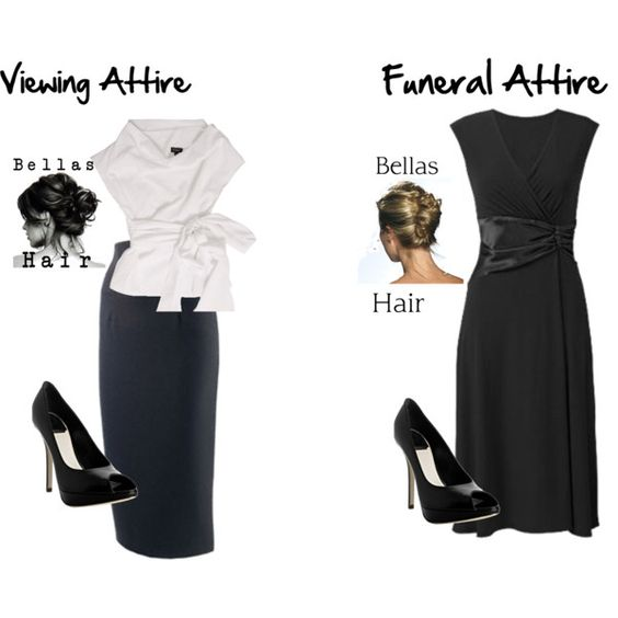 Funeral attire Funeral and Fashion looks on Pinterest