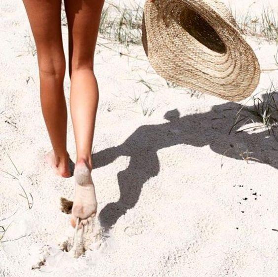 Caminar en la arena...sin prisas