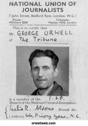 Dünyayı kurtaramayan adam - George Orwell - Dünyalılar - Bağımsız, deÄŸer katan, gerçek haber…
