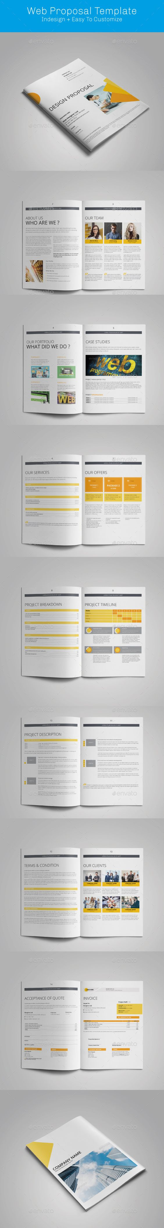 Web Design Proposal Template - Proposals & Invoices Stationery