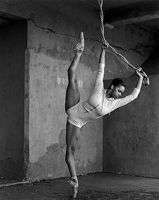 perfect ballet body.