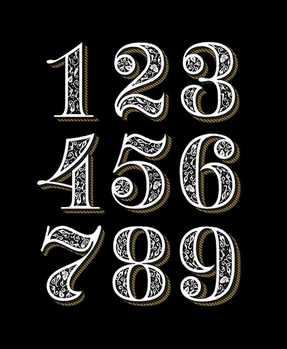 DARKNESS WHISKY numerals on Behance