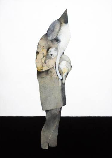 "Saatchi Art Artist Jeroen Blok; Painting, ""Hold me"" #art"