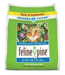 Pellet cat litter - Feline Pine, Good Mews or untreated wood stove pellets