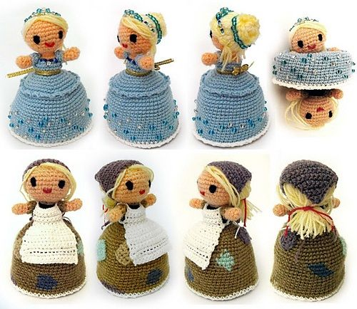 Free Crochet Disney Amigurumi Patterns : Magic Cinderella Crochet Amigurumi Free Pattern for ...