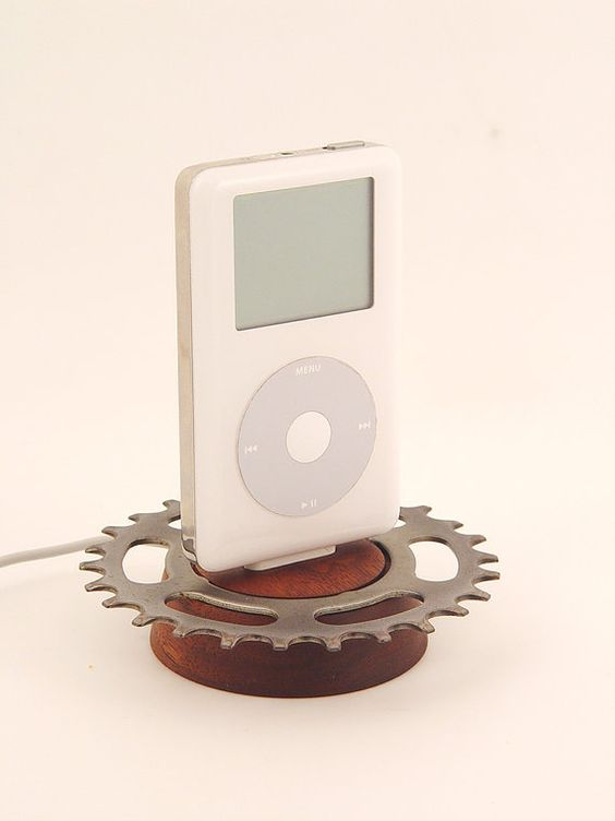 bike gear ipod dock!