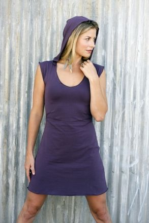 Synergy Organic Clothing | Zoe Hooded Dress - Dresses   Love it!