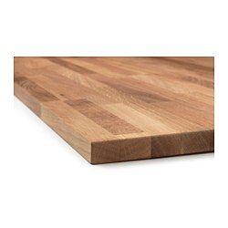 IKEA - HAMMARP, Plan de travail, 246x2.8 cm, , Garantie 25 ans gratuite. Détails des conditions disponibles en magasin ou sur internet.Le chêne est un bois très dur largement apprécié pour les plans de travail et l'intérieur des éléments de rangement. Les tons du chêne vont du brun clair à un brun rouge profond et foncent avec le temps.Le bois massif est un matériau naturel, au toucher particulier. Les variations de couleur, de texture et d'aspect dépendent de la taille et de…