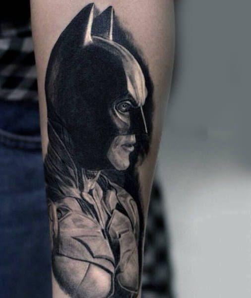 100 Batman Tattoos For Men Superhero Ink Designs In 2020 Batman Tattoo Dark Tattoo Hero Tattoo