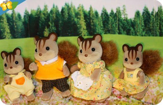 La famille écureuil roux [Sylvanian Families]