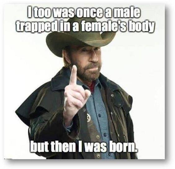 #ChuckNorris #Transvestite #Transgender: