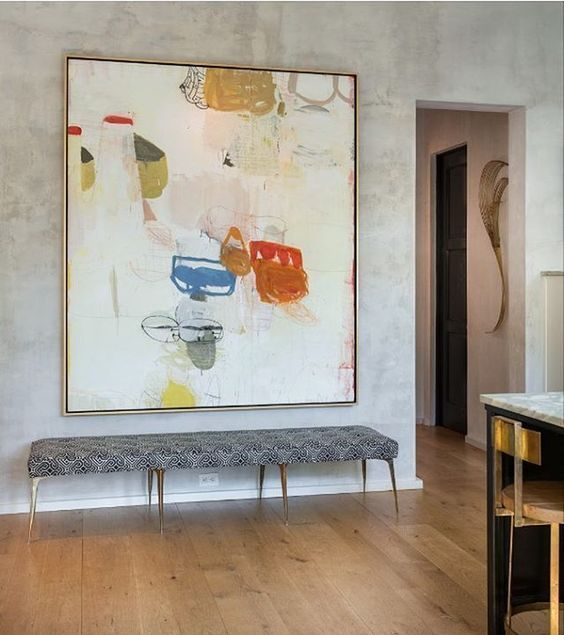 The Most Popular Entryway Design Ideas On Pinterest Abstract Art Painting Interior Design Art Art Painting
