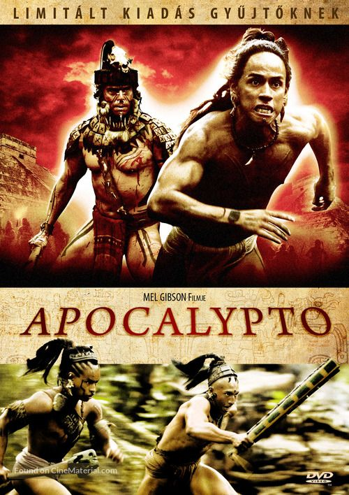 Apocalypto 2006 Hungarian Movie Cover Movie Covers Movie Posters Mel Gibson