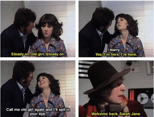 This is why Sarah Jane is and always will be THE awesomeness.
