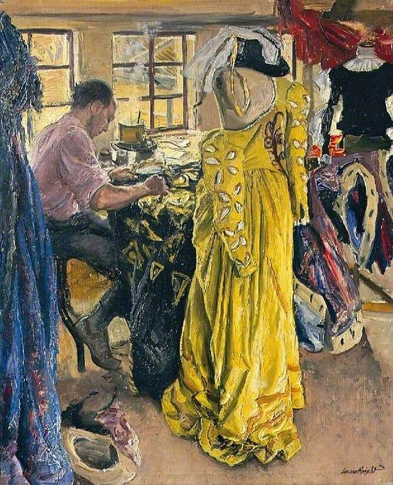 Laura Knight, The Yellow Dress