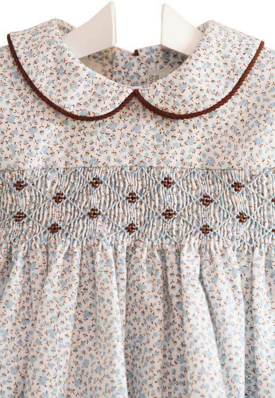 bordado nidito de abeja - demelocoton.com