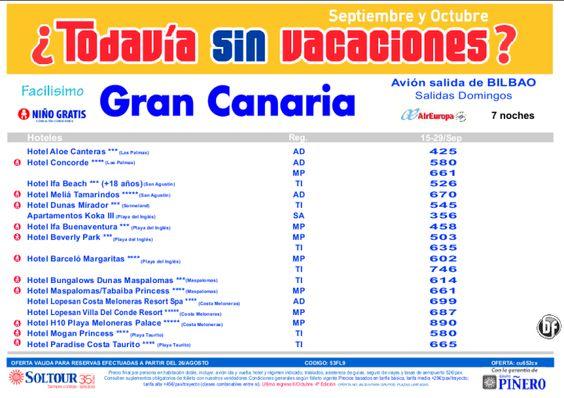 4ª Ed Las vacaciones mas felices. Hoteles en Gran Canaria salidas desde Bilbao - http://zocotours.com/4a-ed-las-vacaciones-mas-felices-hoteles-en-gran-canaria-salidas-desde-bilbao/
