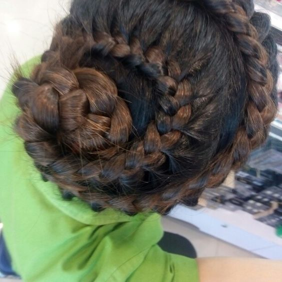 #braided #hair #hairstyle #hairdo