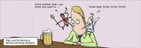 Desgraciadamente el alcohol esta demasiado normalizado en la sociedad. Lastima no saber divertirse sin beber
